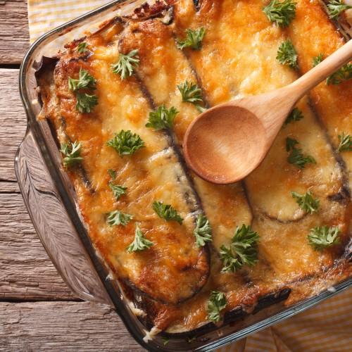 Incroyable Recette De Moussaka De Cyril Lignac moussaka - gratin d'aubergines au boeuf - recette par magali legrand