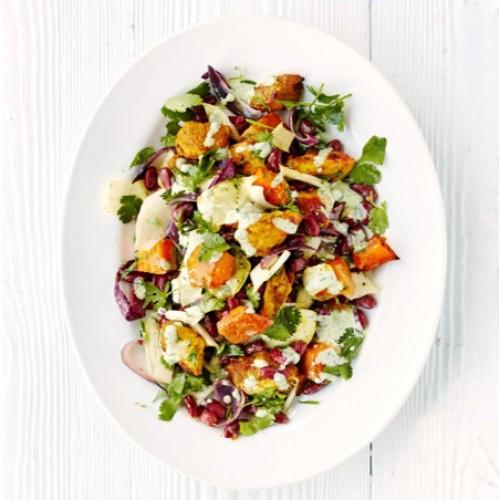 salade de courge butternut l 39 indienne recette par zo paris kitchen club. Black Bedroom Furniture Sets. Home Design Ideas